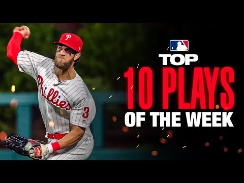 Video: Bryce Harper with the cannon! | MLB's Top 10 Plays of the Week (9/9 to 9/15)