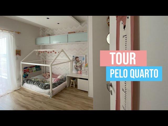 TOUR PELO QUARTO DA ANNE LIV + CAMA MONTESSORIANA   por Juliana Goes - Juliana Goes