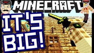 Minecraft GIGANTIC HOUSE Map !