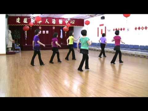 HandyMan -Line Dance (Demo & Walk Through)