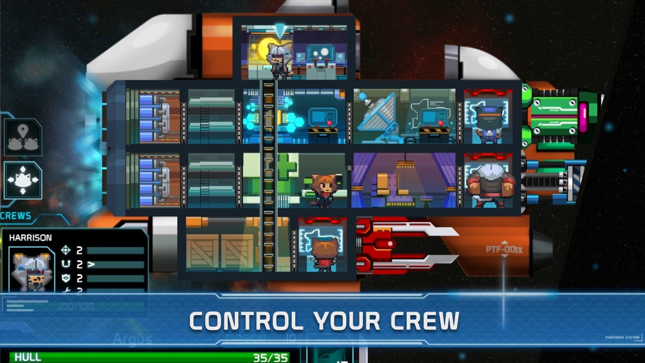 'Panthera Frontier' Brings Furry Space Battles to iOS and Android Next Week