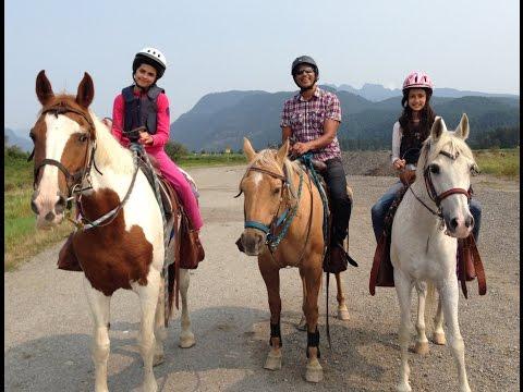 Horse Riding,  Leghorn Ranch, Canada