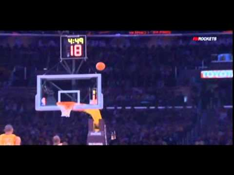 Courtney Lee soaring dunk vs. Lakers