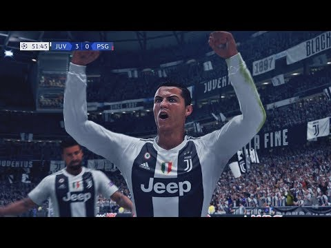 FIFA 19 - Juventus Vs Paris Saint Germain | Gameplay HD PS4 PRO