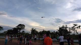 Simulação de Resgate Aéreo em Porto Velho