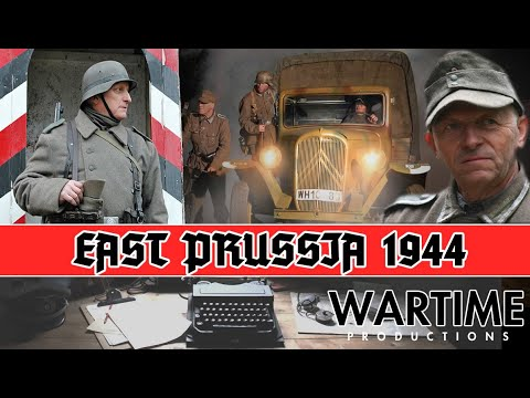 East Prussia  Rückmarsch 1944 the german army retreat from the eastern front WW2