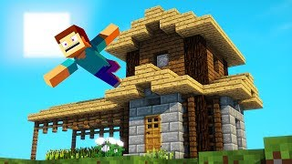 How to Build a Tiny Minecraft Home in Survival!