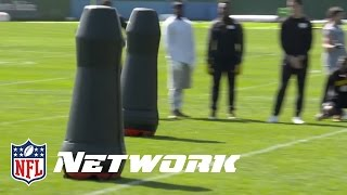 Steelers Experimenting with Robot Tackling Dummies | NFL by NFL