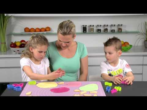 Видео Формочки для печенья из пластмассы Tescoma Формочки забавные DELICIA KIDS, 10 шт.Tescoma 630923