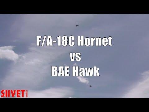 Hawk vs F/A-18C dogfight - dissimilar...