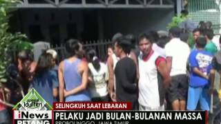 Video Selingkuh saat lebaran, seorang pria di Probolinggo jadi bulan-bulanan warga - iNews Petang 07/07 MP3, 3GP, MP4, WEBM, AVI, FLV Januari 2018