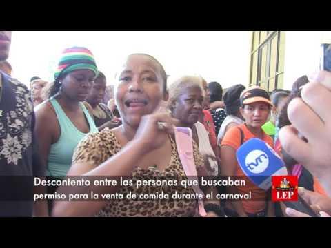Se inicia la entrega de permisos para ventas en el Carnaval capitalino