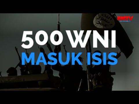 500 WNI Masuk ISIS
