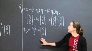 Gram-Schmidt Orthogonalization | MIT 18.06SC Linear Algebra, Fall 2011