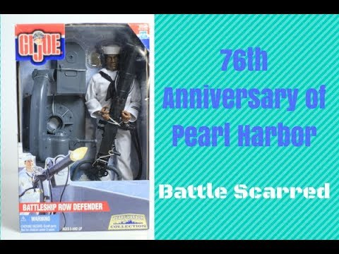 Pearl Harbor Day with GI Joe Battleship Row Defender in box