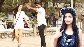 Singing Dhinchak Pooja's Songs BADLY In Public Prank - Baap Of...