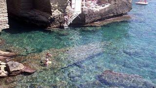 Santa Cesarea Terme Italy  city photos gallery : Drone Tour of Santa Cesarea Terme|ARCHI Beach|by luxury|B&B|Tana del Riccio|in Puglia|Southern Italy