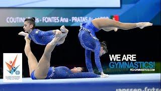 Video 2018 Acrobatic Worlds, Antwerp (BEL) - Highlights WOMEN'S GROUPS FINAL - We Are Gymnastics ! MP3, 3GP, MP4, WEBM, AVI, FLV April 2019