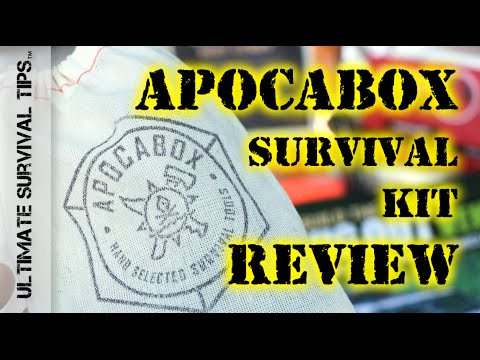 NEW! ApocaBox Subscription Based Survival Kit – REVIEW