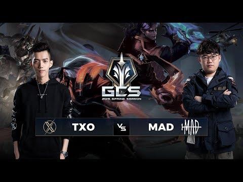 TXO vs MAD Team - Ngày 3 Tuần 5 - GCS Mùa Xuân 2019 - Garena Liên Quân Mobile - Thời lượng: 2:56:04.