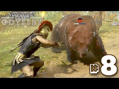 THE BEAR BOUNTY HUNTER!!! - Assassin's Creed Odyssey | Part 8 || FULL PLAYTHROUGH (PS4) HD