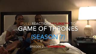 """- (FULL REACTION) to Game of Thrones HBO (SEASON 7) #WinterIsHere Ep. 2 """"STORMBORN"""" (LINK BELOW) - (FULL REACTION *** LINK ***) to Game of Thrones HBO (SEASON 7) #WinterIsHere Ep. 2 """"STORMBORN"""" - ***(FULL REACTION) to Game of Thrones HBO (SEASON 7) Ep. 2 """"STORMBORN"""" (NEW LINK) - https://goo.gl/vHCwBg***(Premiere) Episode 2 Synopsis:Daenerys receives an unexpected visitor. Jon faces a revolt. Tyrion plans the conquest of Westeros.George R.R. Martin's best-selling book series """"A Song of Ice and Fire"""" is brought to the screen as HBO sinks its considerable storytelling teeth into the medieval fantasy epic. It's the depiction of two powerful families -- kings and queens, knights and renegades, liars and honest men -- playing a deadly game for control of the Seven Kingdoms of Westeros, and to sit atop the Iron Throne. Martin is credited as a co-executive producer and one of the writers for the series, which was filmed in Northern Ireland and Malta.First episode date: April 17, 2011"""