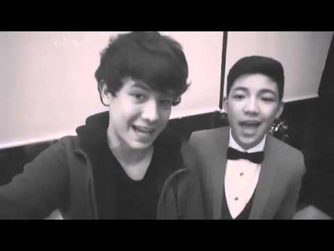 Darren And JK singing Love Yourself (01-12-2016)