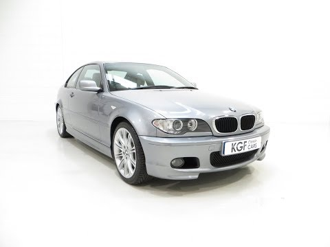 An Astonishing BMW E46 318Ci MSport Coupe with 3,455 Miles and BMW History - £12,995