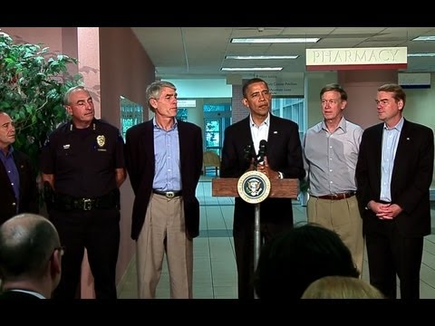 WATCH VIDEO of Obama speaking about Newtown, the Aurora theater, the Wisconsin Sikh temple, and Tucson.
