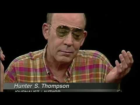 Hunter S. Thompson interview (1997)