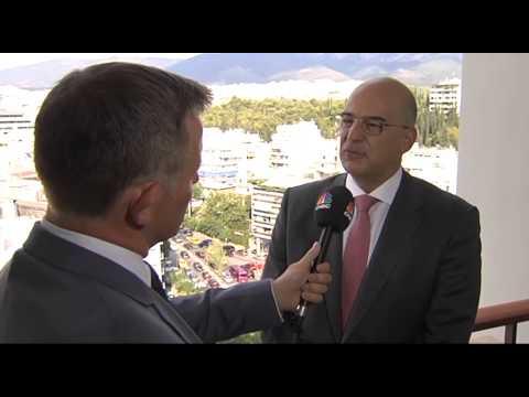 Συνέντευξη Νίκου Δένδια στο CNBC (ΒΙΝΤΕΟ)