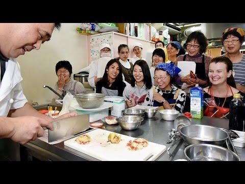 中華で神戸の食材堪能 南京町で料理教室