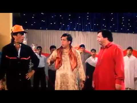Shakti Kapoor Fights With Govinda By Indian Comedy Movie.