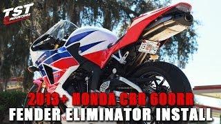 8. How to Honda CBR 600RR: 2013 2014 Fender Eliminator Installation