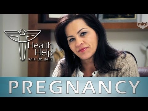 "Pregnancy Tips and Advice – ""Health Help"" (English)"