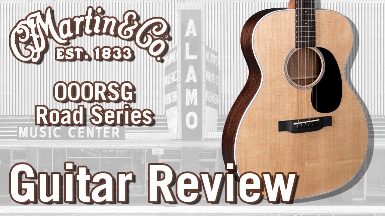 New For 2018-The Martin 000RSG Acoustic Guitar Review Road Series