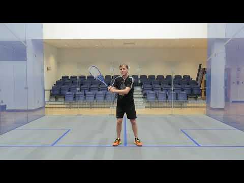Squash tips: Backhand technique with Peter Nicol