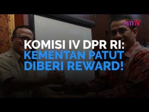 Komisi IV DPR: Kementan Patut Diberi Reward!