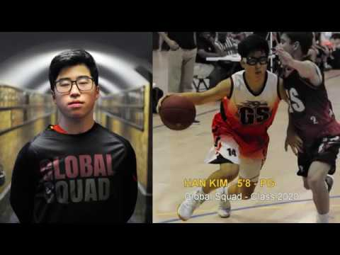 Han Kim | 5'8 - PG | Global Squad 2017