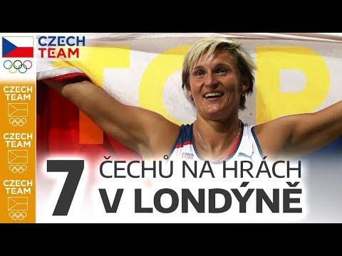 TOP: 7 Čechů na Hrách v Londýně