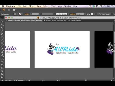 Adobe Illustrator CS6 - Export PDF And Separate EPS Files From Multiple Artboards
