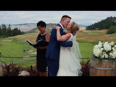 Beautiful Okanagan Weddings at Predator Ridge