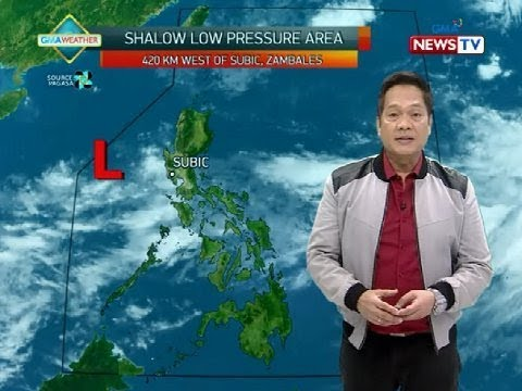 BT Weather update as of 1204 p.m. September 16, 2019