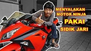 Video Turning On a Motorcycle Engine With Fingerprints MP3, 3GP, MP4, WEBM, AVI, FLV Agustus 2018