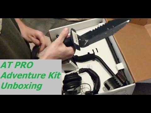 Металлодетектор Garrett AT Pro Adventure Kit Распаковка (Metal Detector Unboxing)