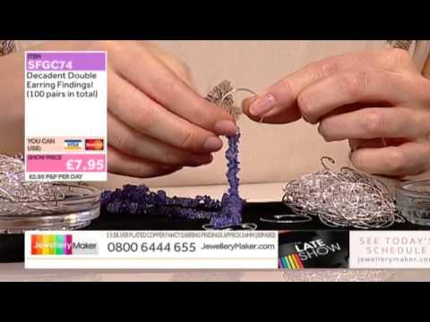 Winter wonderland and Tanzanite for jewellery making:JewelleryMaker LIVE 02/12/14