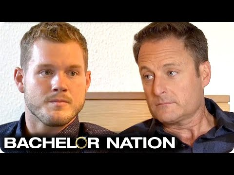 Colton Tells Chris Harrison He's Going To Fight For Cassie | The Bachelor US
