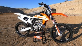 8. First Ride 2019 KTM 250SX 2 Stroke - Motocross Action Magazine