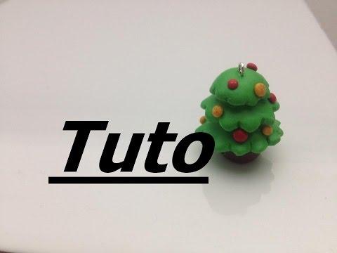 fimo - come creare un piccolo albero di natale