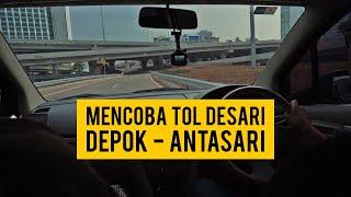 Video Seperti ini ternyata Jalan Tol Desari (Depok - Antasari) MP3, 3GP, MP4, WEBM, AVI, FLV Oktober 2018